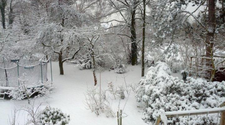 Schnee weg, Schnee da