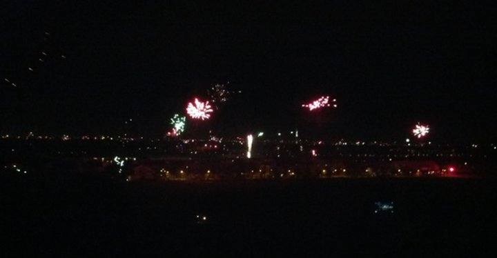 Feuerwerk uber Hannover