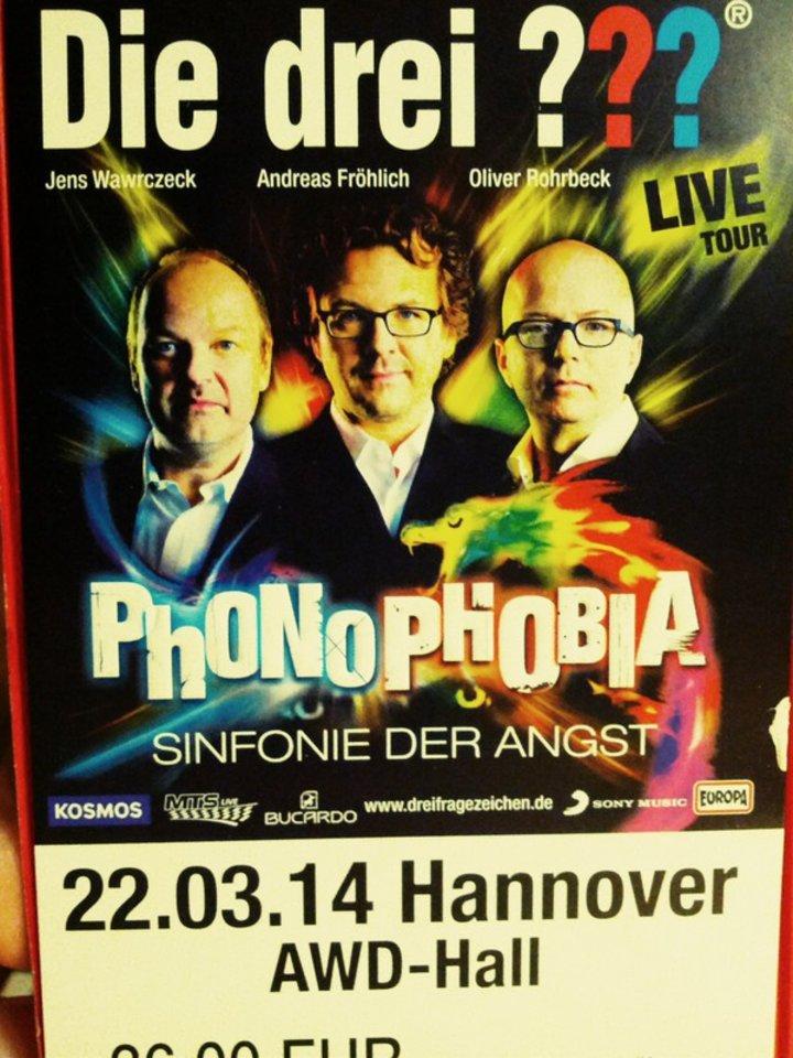 Die drei Fragezeichen Phonophobia