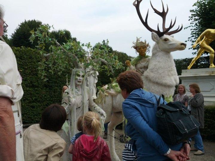 Kleines Fest im großen Garten