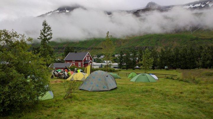 Zurück nach Seyðisfjörður