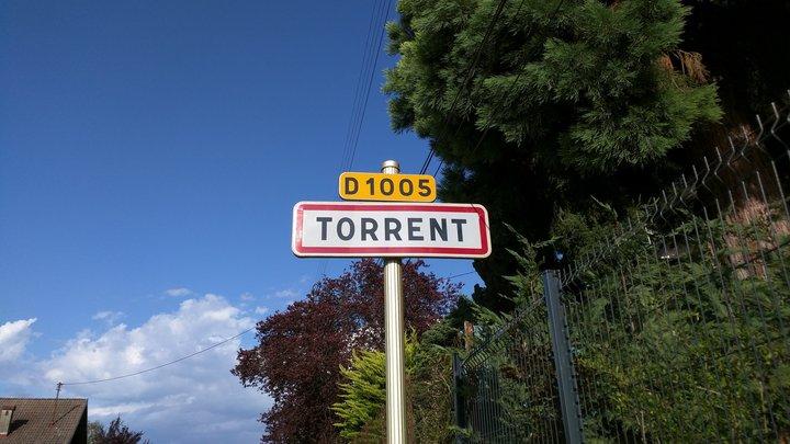 Torrent in Frankreich