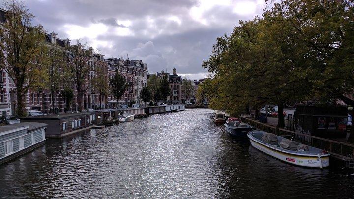 In Amsterdam gibt es keine Fahrradhelme