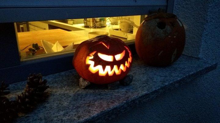 Halloween 2017 Fratze