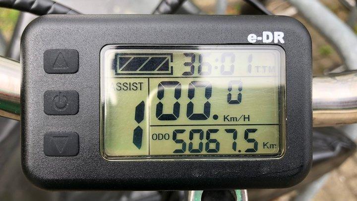 5000 km Bakfiets